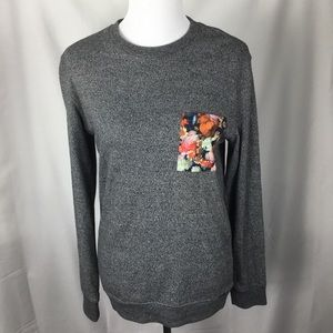 ON THE BYAS LONG SLEEVE TOP. SIZE SMALL.
